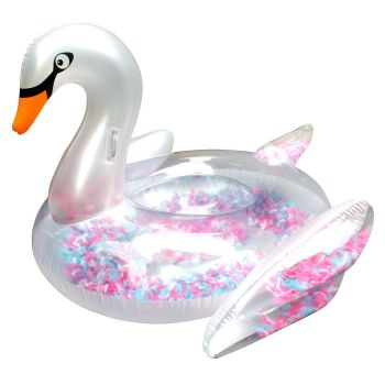 Float Like A Feather Swan Multi Feathers