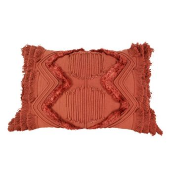 Jethro Embroidery and Tufted Cushion