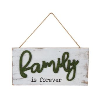 Delilah Collection Family is Forever Plaque