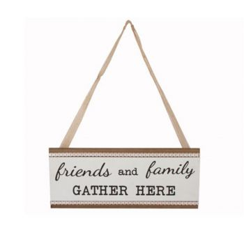 Delilah Collection Family and Friends Gather Plaque