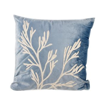 Ondine Coral Cushion With Fill 45x45x10cm