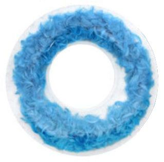 Light As a Feather Swim Ring Blue 116cm