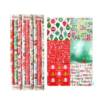 3pk Wrapping Paper