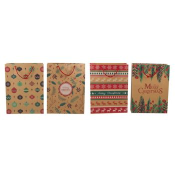 Christmas Gift Bag Craft Paper Extra Large