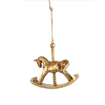 Carousel Horse Resin Hanging Décor