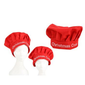 Christmas Red Chef Hat