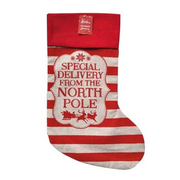 Special Delivery Christmas Stocking